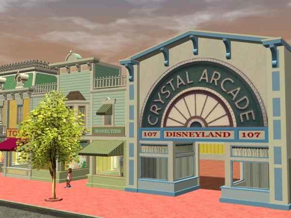 Custom Scenery Depot - Theme Park Games - Main Street Set 2