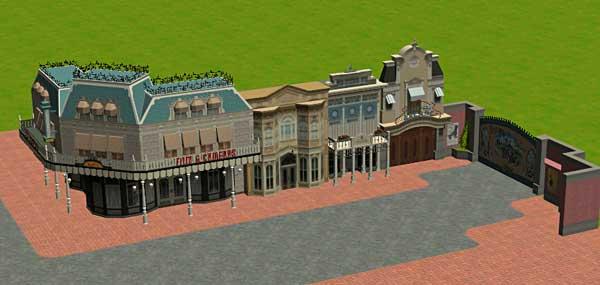 Custom Scenery Depot - Theme Park Games - Around Discovery Arcade