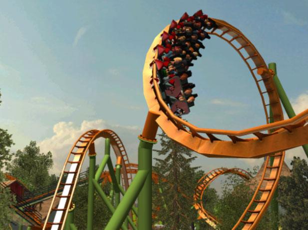 Custom Scenery Depot - Theme Park Games - Revolutionary Rides Maurer