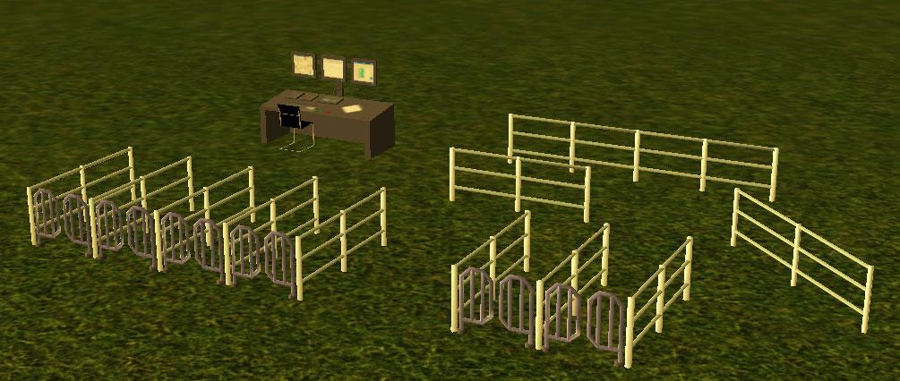 Custom Scenery Depot - Theme Park Games - Station Gates