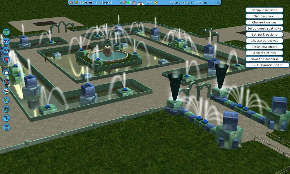 Custom Scenery Depot - Theme Park Games - RCT2 Revival Crue- Water