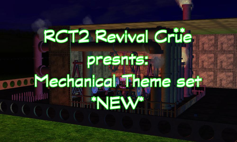 Custom Scenery Depot - Theme Park Games - RCT2 Revival Crue