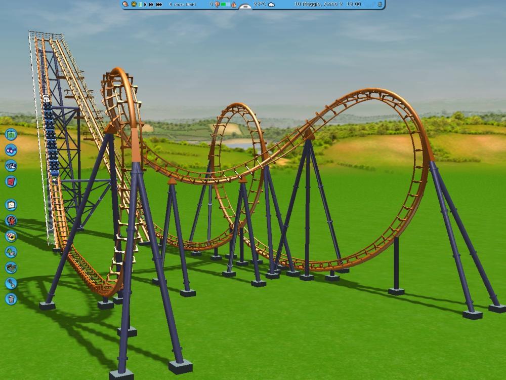 Custom Scenery Depot - Theme Park Games - Vekoma Boomerang CT