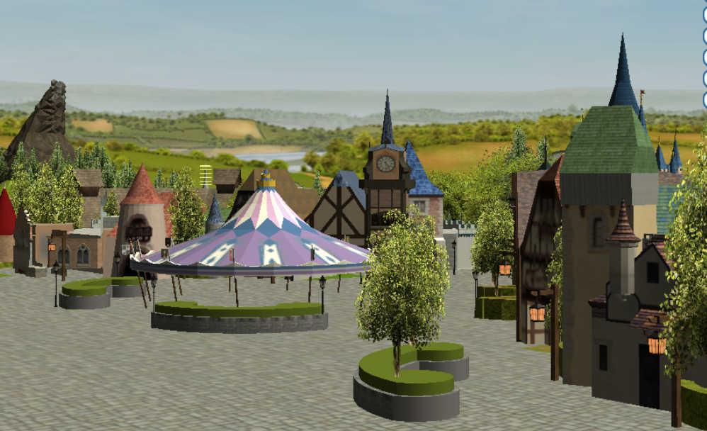 Custom Scenery Depot - Theme Park Games - Xtian's Fantasyland